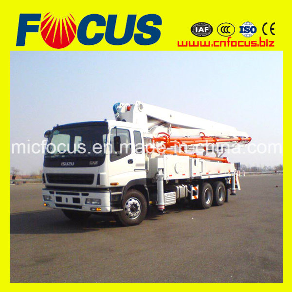 24m, 28m, 32m, 39m, 42m, 45m, 48m, 52m Boom Mobile Co<em></em>ncrete Pump on Truck