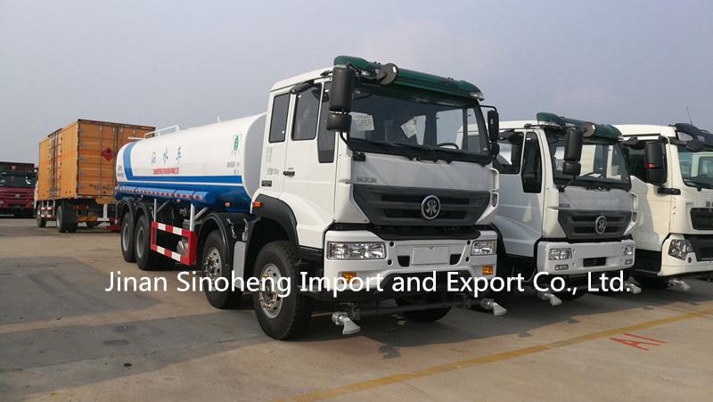 China 15m3 HOWO 6X4 Water Tank Truck/Wanter Tanker