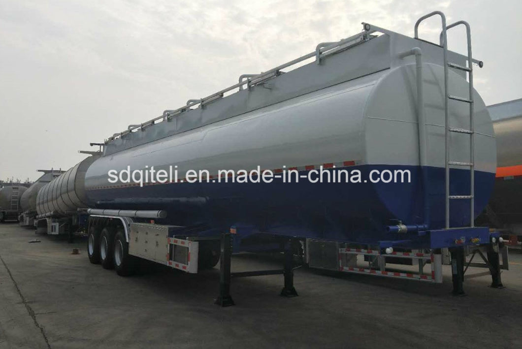 3 Axle 65cbm Carbon Steel Fuel Tank Trailer/Oil/Gasoline/Diesel Tanker Semi Trailer