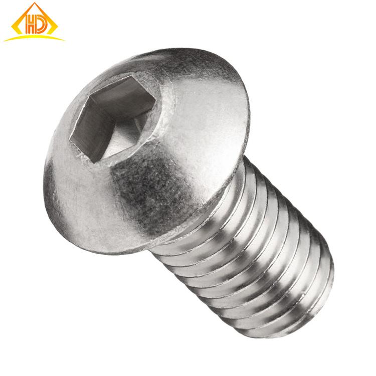 ISO7380 Stainless Steel 304 Button Socket Head Machine Screw