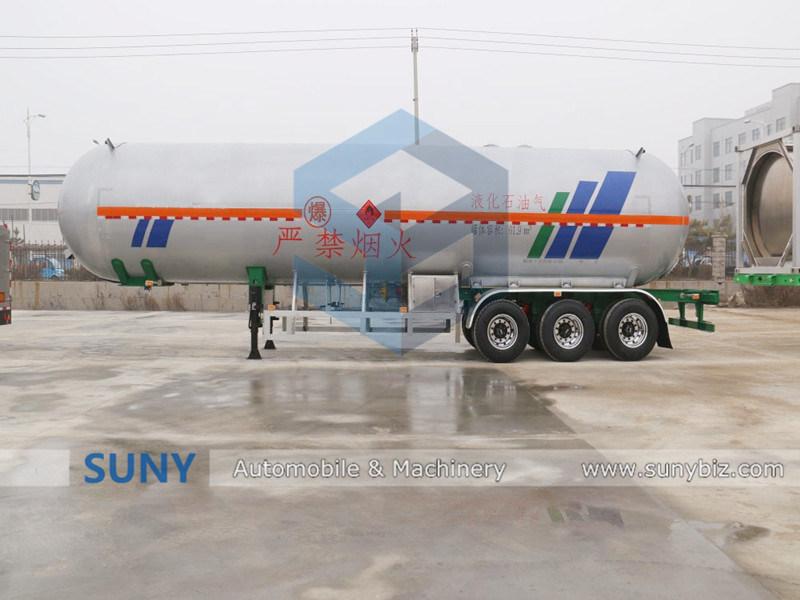 61.9m3 LPG Tank Semi Trailer for Sale