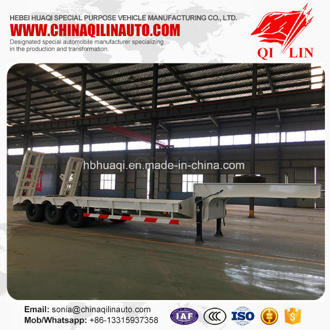Factory Direct Supply of Cheap Price Low Bed Semi Trailer for Hot Sale