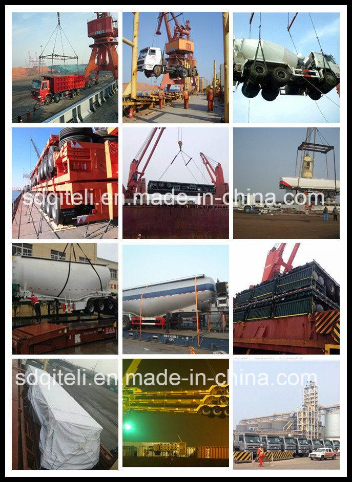 3 Axle Fuel/Diesel/Oil/Petrol/Utility Tanker/Tank Truck Tractor Semi Trailer