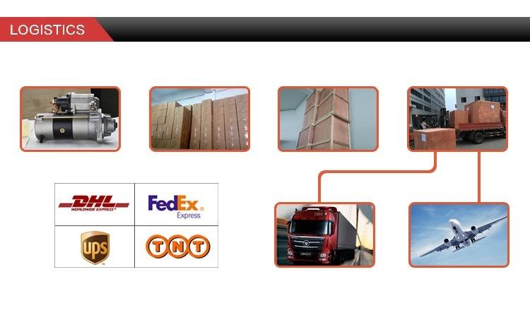 24V 3.2kw 9t Fork Lift Truck/Stacking Machine/Fork Truck Komatsu Motor Engine