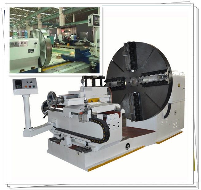 CE Certificated Horizontal CNC Lathe for Turning Steel Flange (CK61250)(图1)