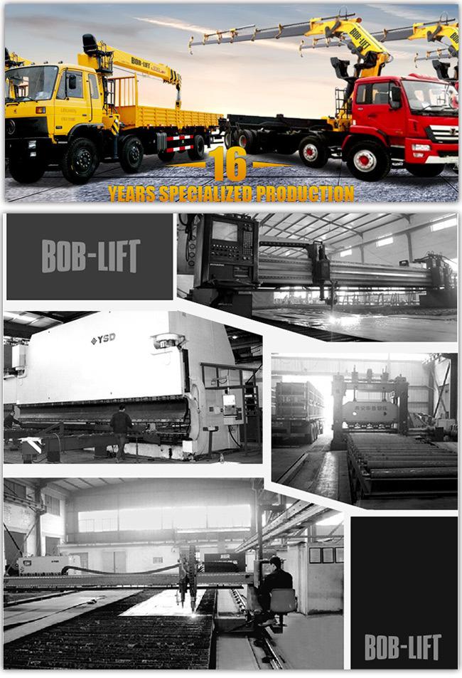 Price Hydraulic Pick up Man Lift Crane