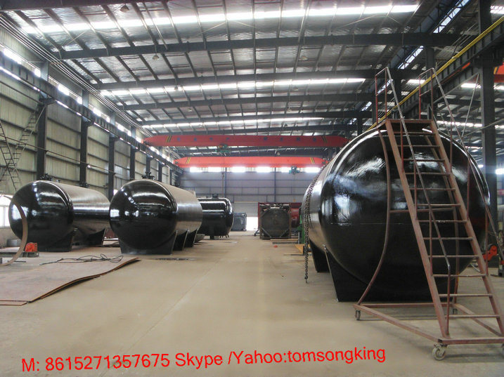 10 - 100ton Gasoline Underground Storage Tank Customize Vertical Horizo<em></em>ntal (Carbon Steel or Stainless Steel Petrol Diesel Fuel Oil)