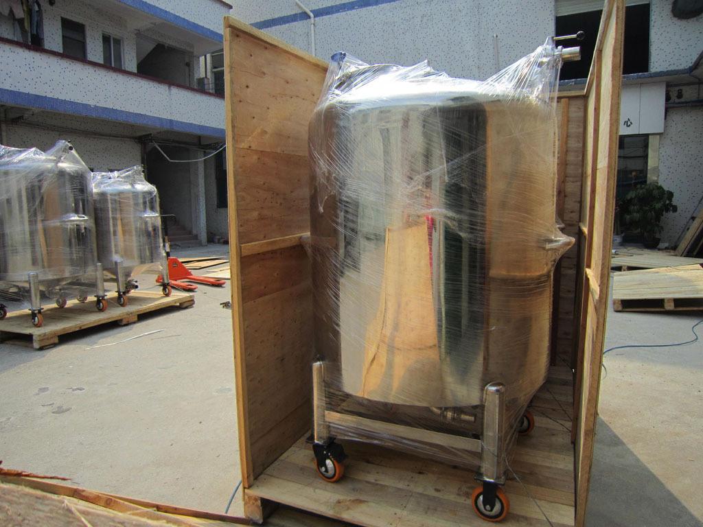 Sanitary Stainless Large Outdoor Storage Tank