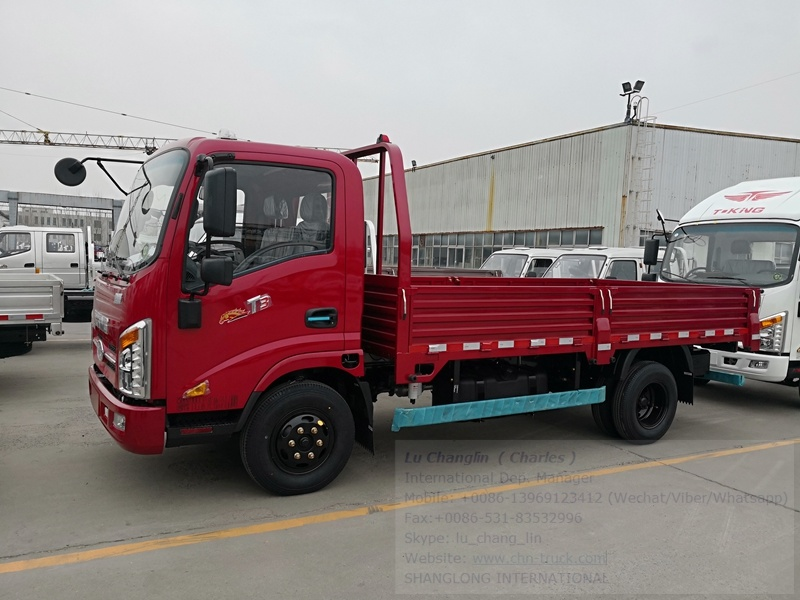 T-King Light Truck Lorry Truck Cargo Truck 5 Tons for