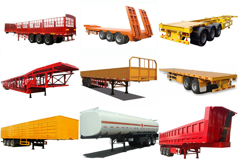 China Manufacture Heavy Duty Side Co<em></em>ntainer Trailer/Dump Semi Trailer