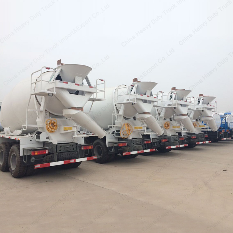 8m3 Sinotruk HOWO 6X4 Co<em></em>ncrete Mixer Trucks/Cement Mixer