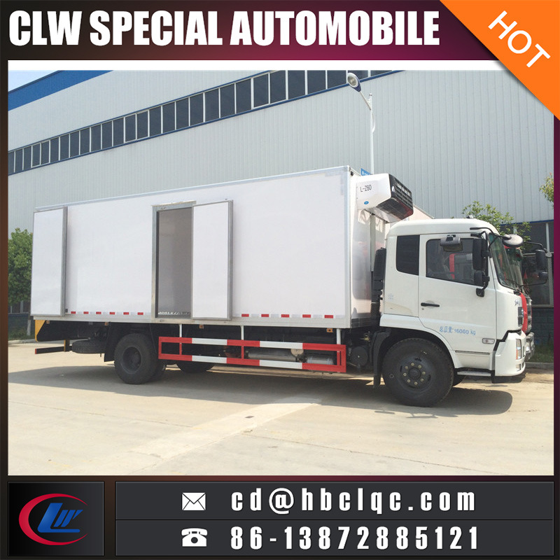 Factory Sales 4X2 170HP Cold Co<em></em>ntainer Truck Freezer Car