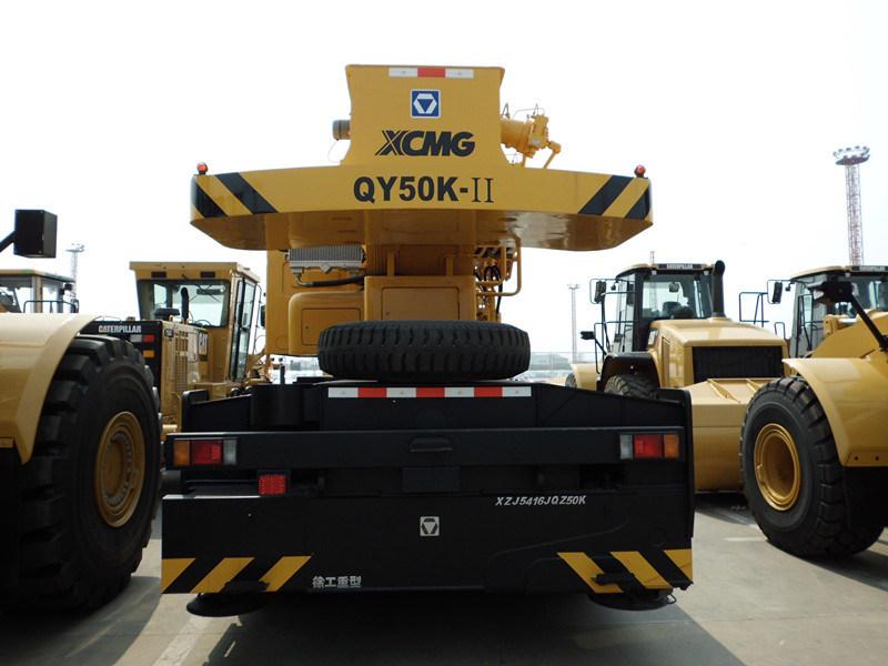 Кран тележки Qy50k-II 50 тонн передвижной используемый краном тележки