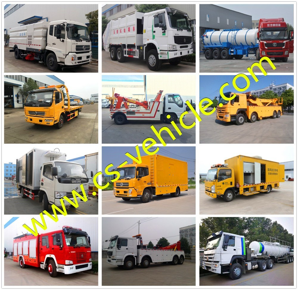 JAC DFAC Sinotruk 4X2 3tons 5tons 8tons Refrigerated Cold Room Van Truck Freezer Truck