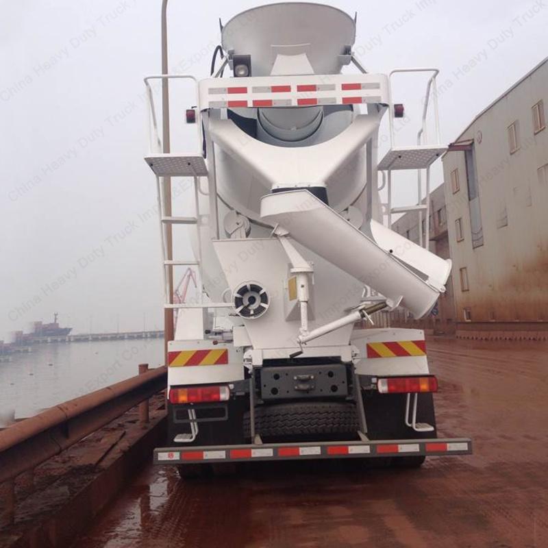 8m3 Sinotruk HOWO 6X4 Co<em></em>ncrete Mixer Trucks/Cement Mixer