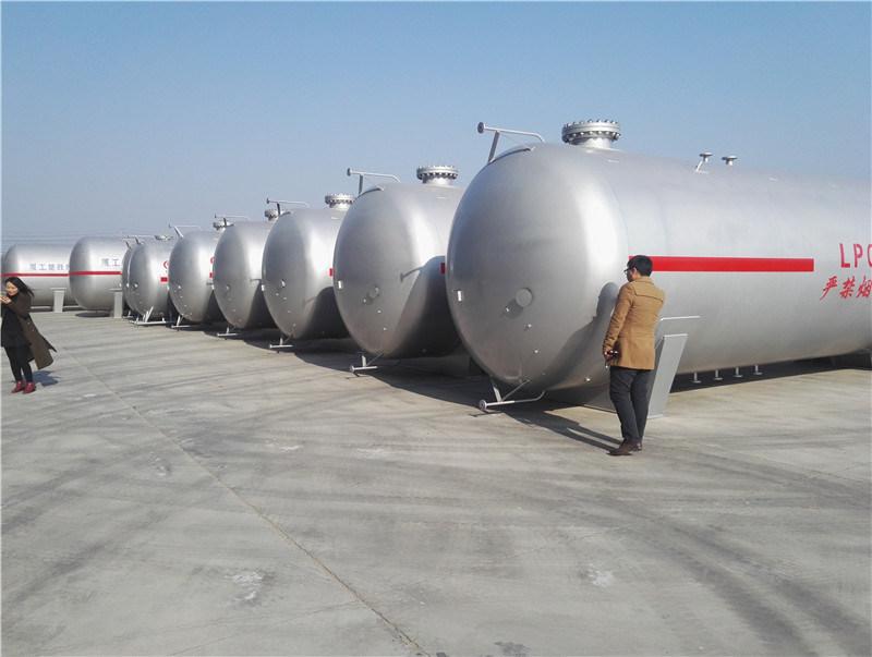 New Co<em></em>ndition 60m3 LPG Propane Gas Tank 30 Tons LPG Storage Tank Price for Sale