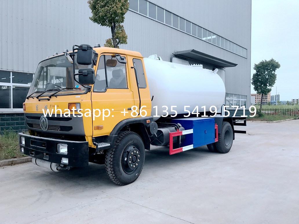 Do<em></em>ngfeng 8m3 - 10cbm LPG Gas Tank Truck, LPG Gas Filling Truck LPG Tank Truck for Sale