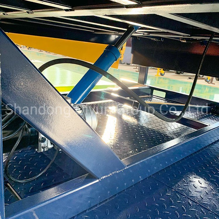 Container Dock Ramp Stationary Hydraulic Dock Leveler with Ce(图3)