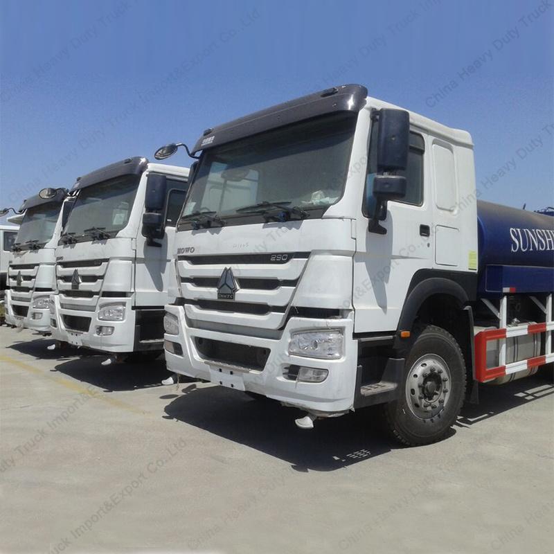 Power 250 HP 6*4 Sinotruk HOWO Water Tank Truck Factory Water Spray Truck