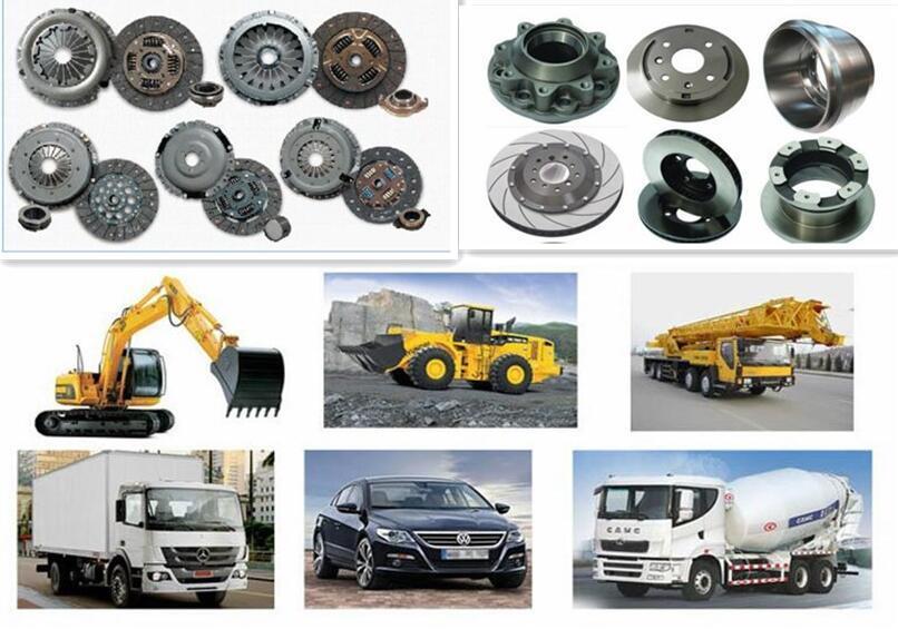 Mitsubishi Clutch Disc of Me520223 Me520224 Me520401 Me520467 Spare Parts