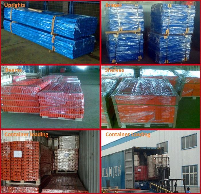 Galvanized Storage Pallet Racks