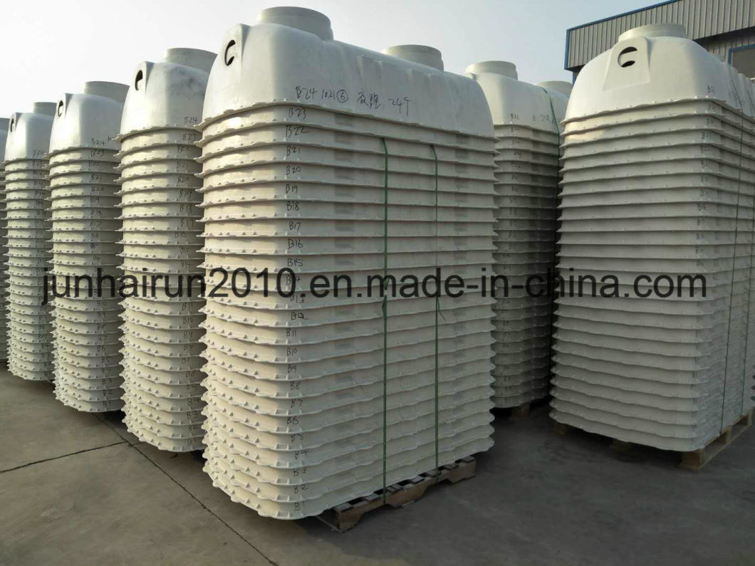 above ground septic tank. FRP Purification Biogas Digest Filter Above Ground Septic Tank Molds
