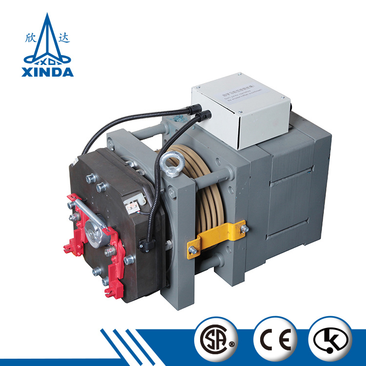 Passenger Elevator Motor Elevator Gearless Traction Machine
