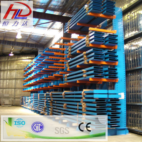 Warehouse Storage Rack with Steel Cantilever
