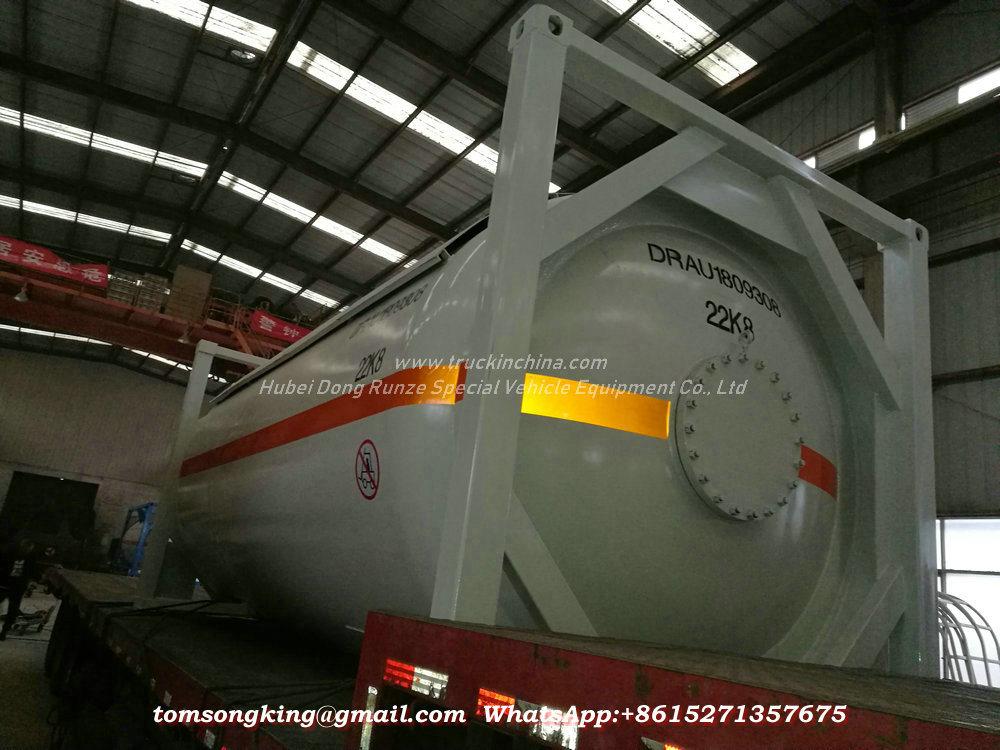 Un1005 Liquid Ammo<em></em>nia Isotank (Ammonia, anhydrous) Portalbe Tank Container