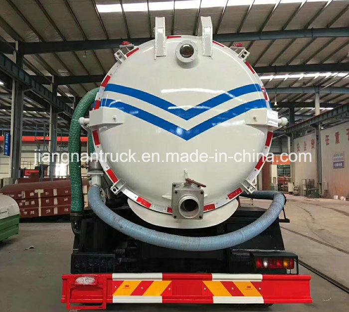 Do<em></em>ngfeng 10 Cubic Meters Sludge Suction Tank Truck