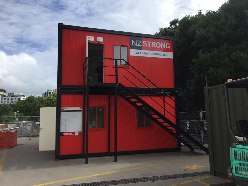 Prefabricated Office Co<em></em>ntainer New Zealand for Sale