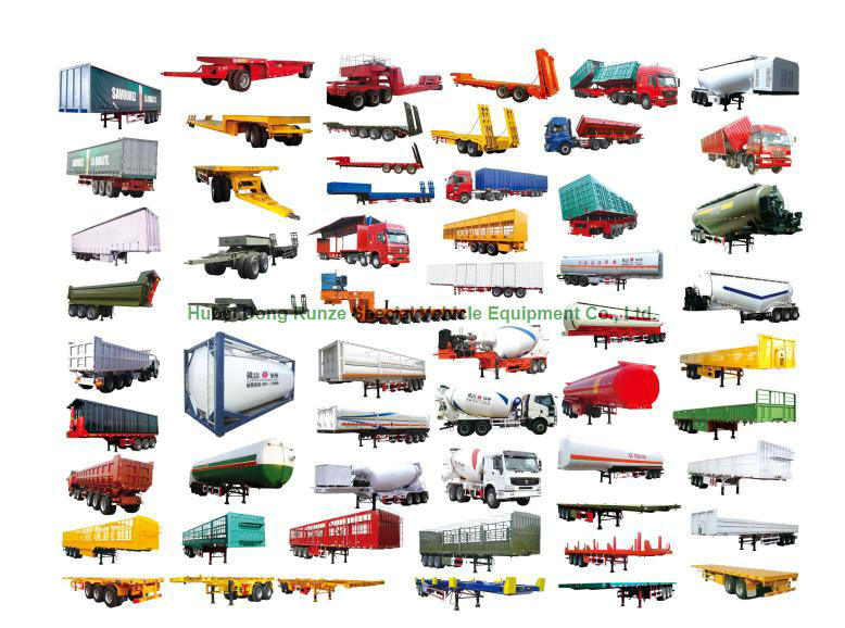 Aluminum Alloy Tanker Trailer 40kl for Diesel, Oil, Gasoline, Kerosene Road Transport with 3 BPW Axles