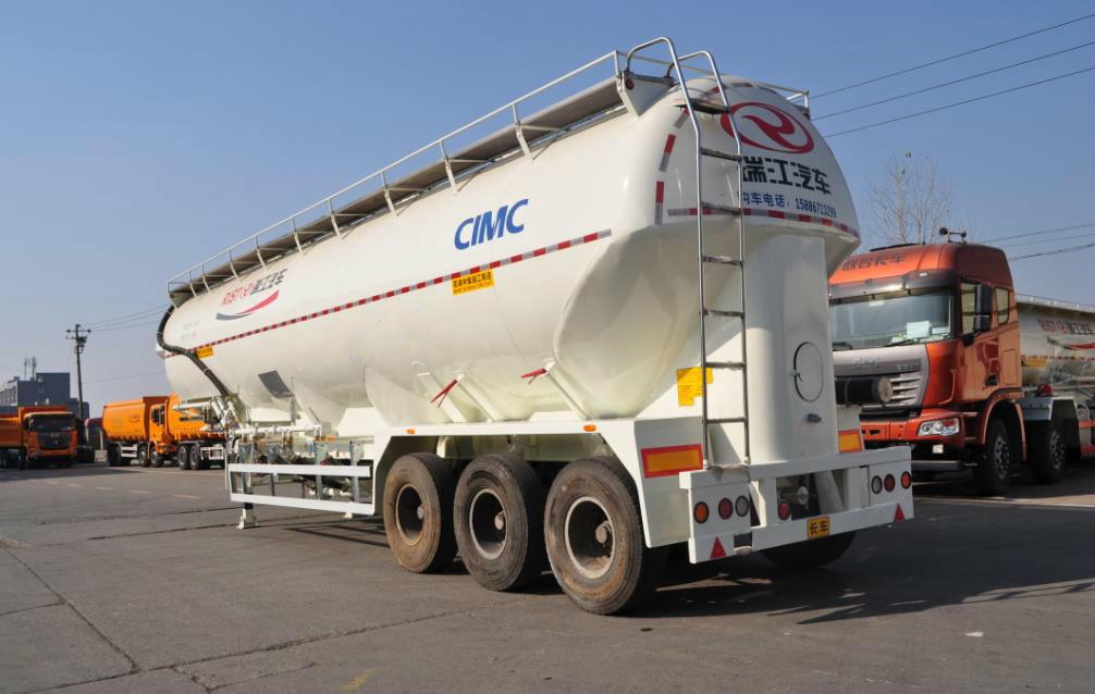 Vertical Type Cement Tank Semi-Trailer