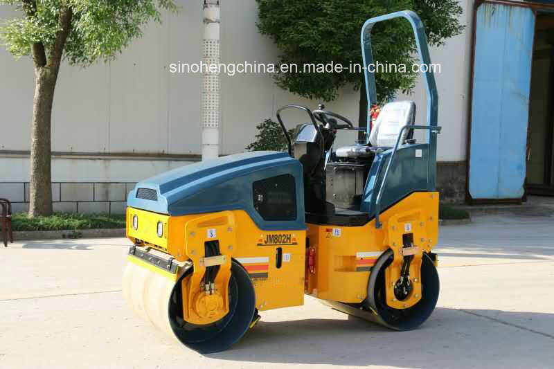 Full Hydraulic Double Drum Vibratory Roller with Ce Certificate Jm802h