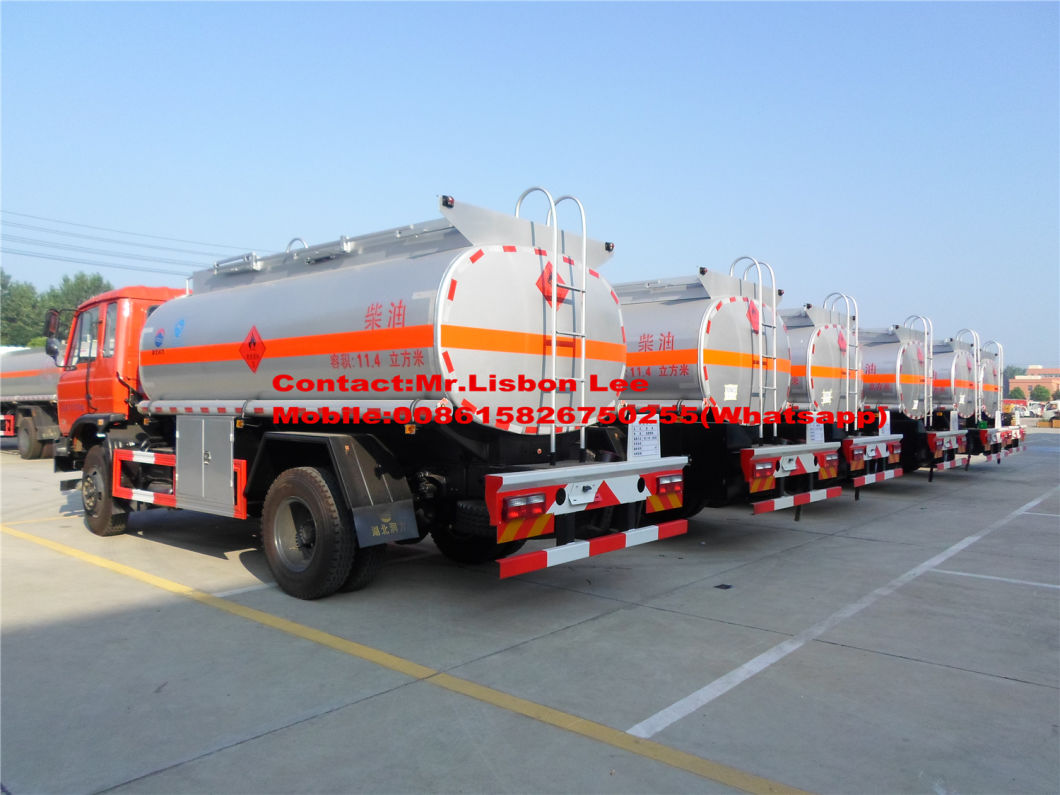 China Cheapest Price Do<em></em>ngfeng 4X2 Fuel Tank Tanker Truck 8000-12000L for Sale