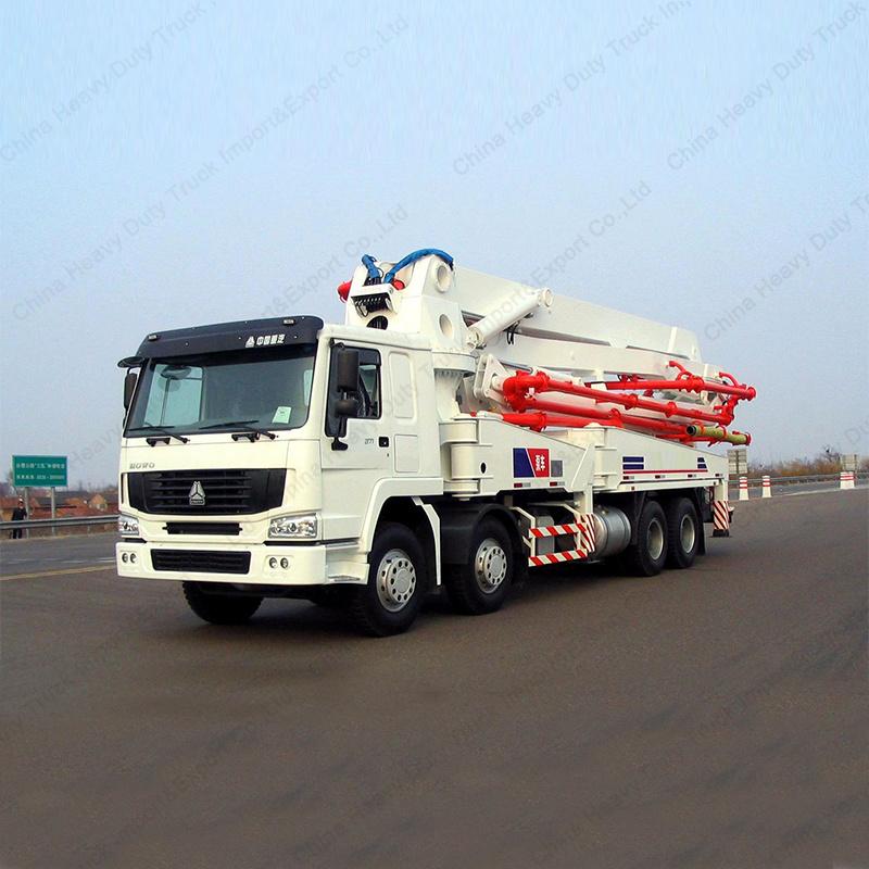 Sinotruk Truck Mounted Co<em></em>ncrete Pump Mixer Co<em></em>ncrete Pump Truck