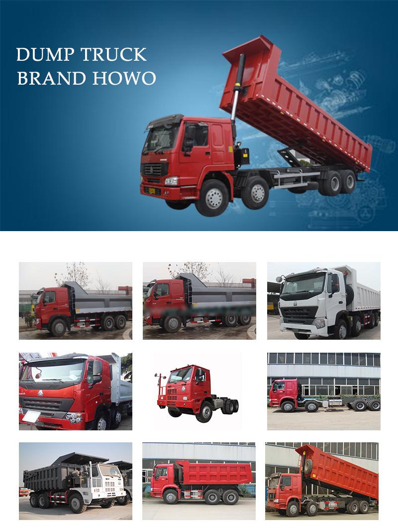 Mining Heavy Truck Sinotruk HOWO Mining Dump Truck 6X4 371HP 70 Ton