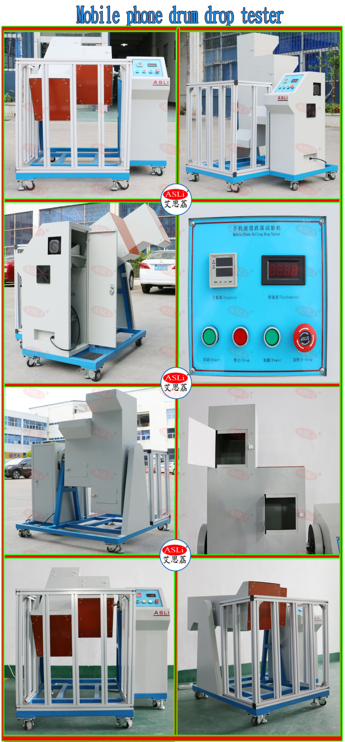 Drum Roller Drop Test Machine Mobile Phone Drum Drop Tester