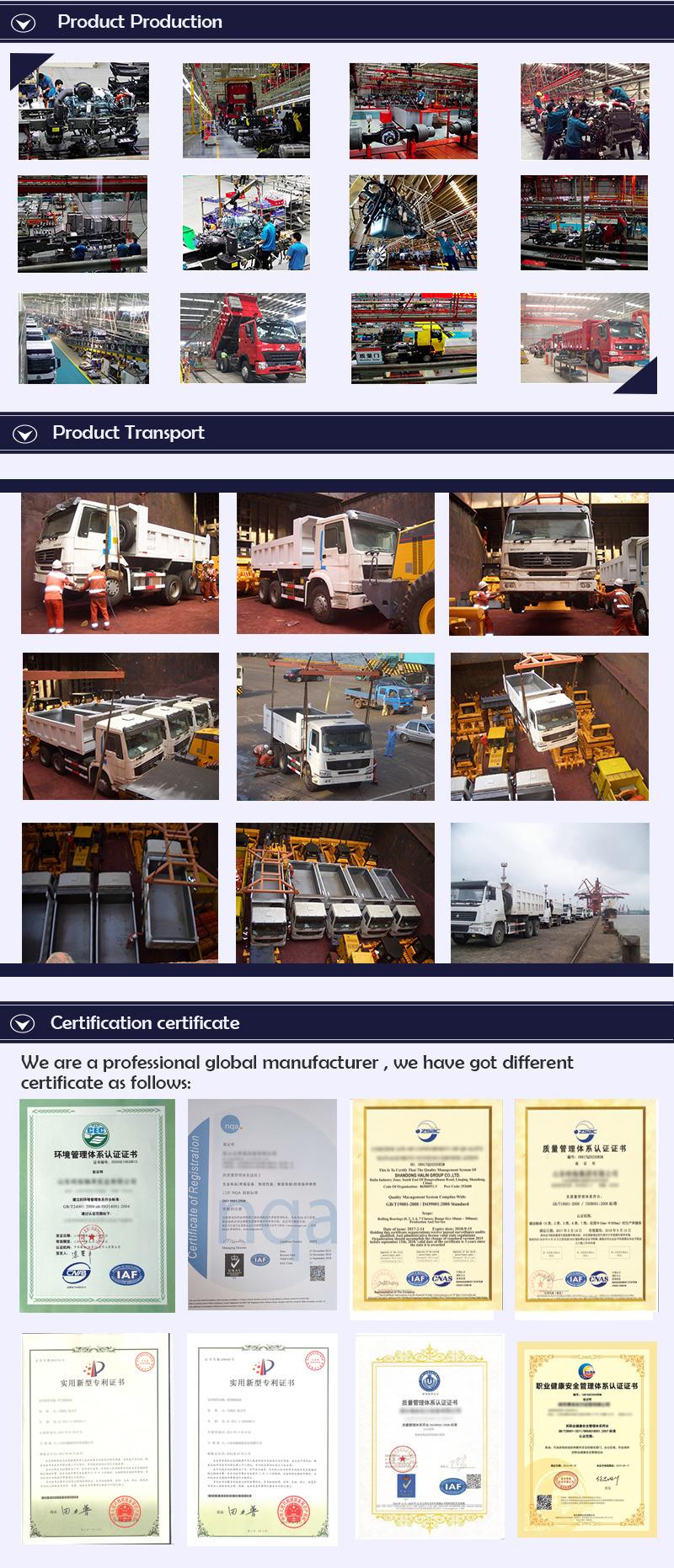 Sinotruk HOWO 4X2 Price Head Truck / Prime Mover / HOWO Truck