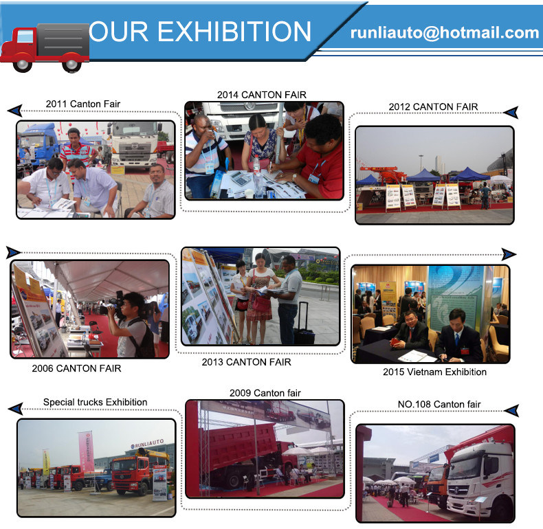 Manufacture Beiben 8X4 20000 Liters Fuel Tank Truck