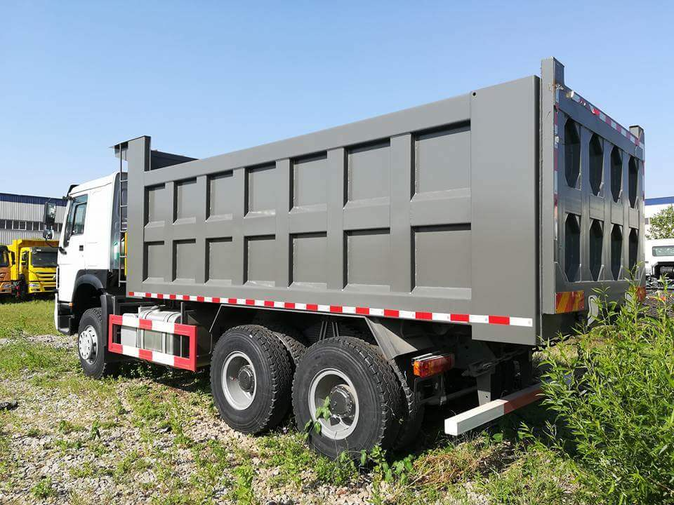 HOWO Euro2 30t Left Hand Dump Truck From Jinan Factory