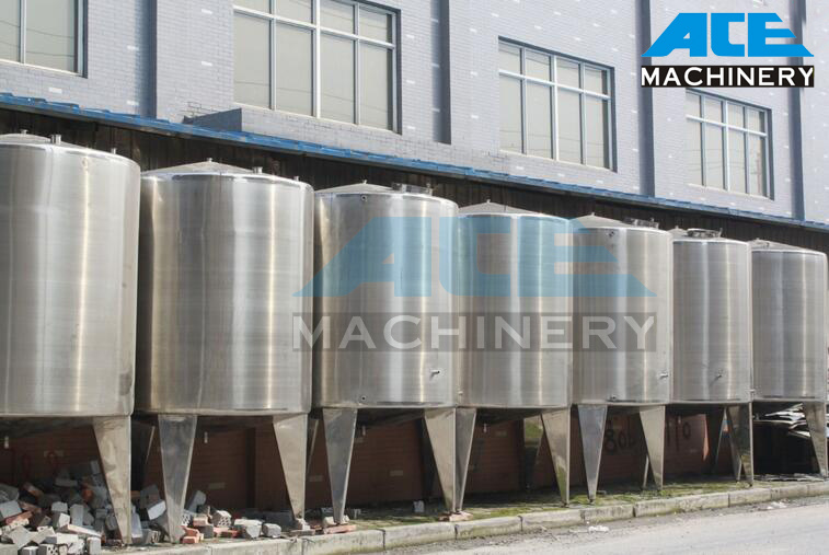 1000L Stainless Steel Storage Tank for Milk (ACE-CG-V5)