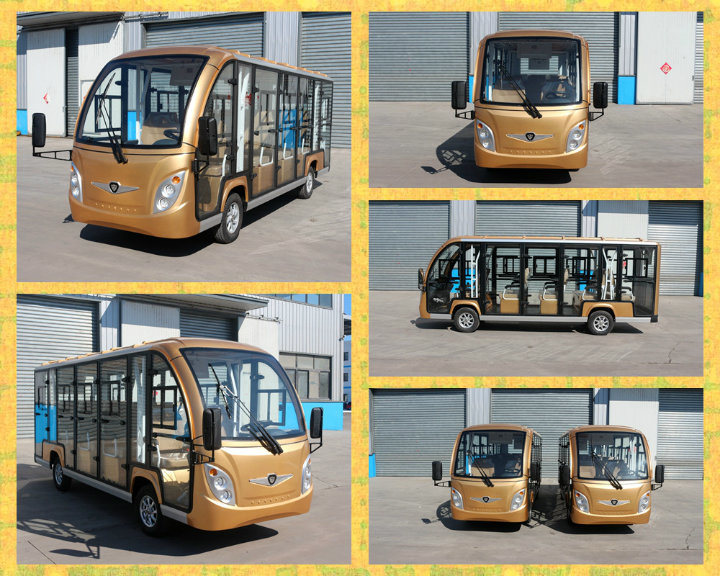 Zho<em></em>ngyi New Design 14 Seats Electric Scooter Bus with High Quality