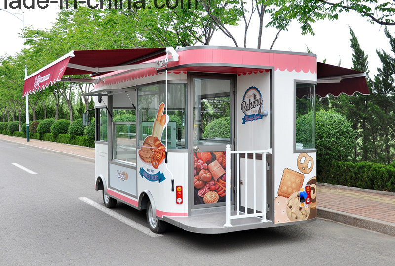 Movable Bakery Food Vending Trucks for Sale with Ce/SGS Certificates