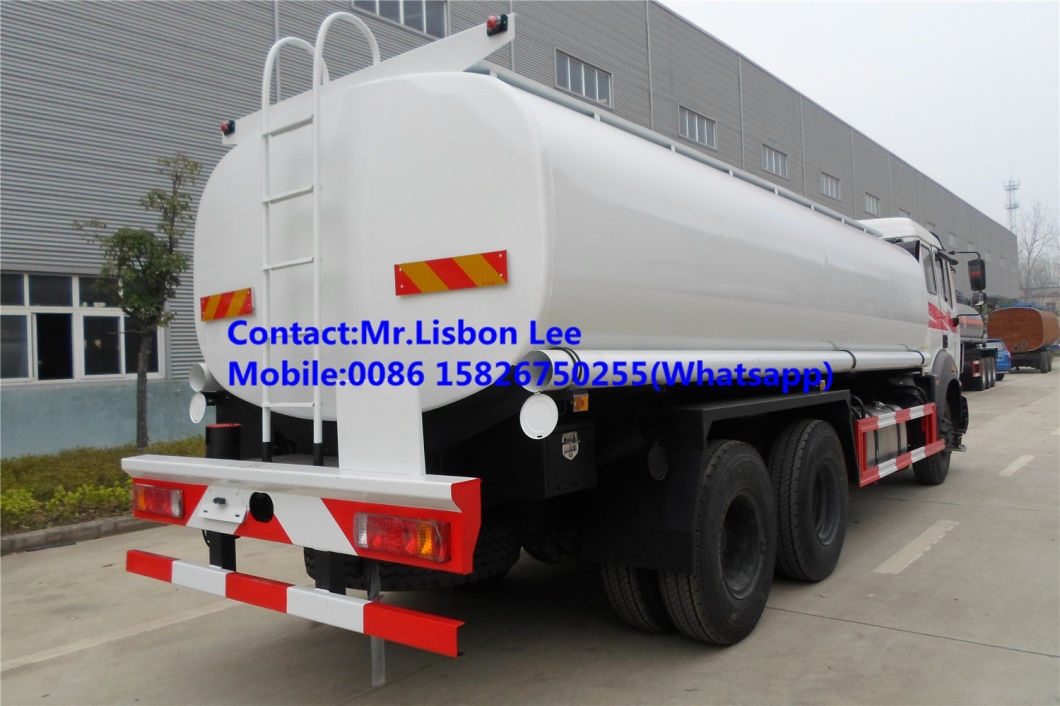 China Best Price North Benz Beiben 6X4 Fuel Tank Tanker Truck 20000L