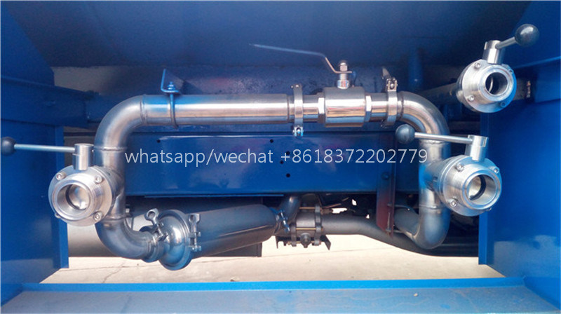 Chengli Forland Brand 3000L Food Grade Stainless Steel Drinking Water Transport Delivery Truck Water Dispenser Truck