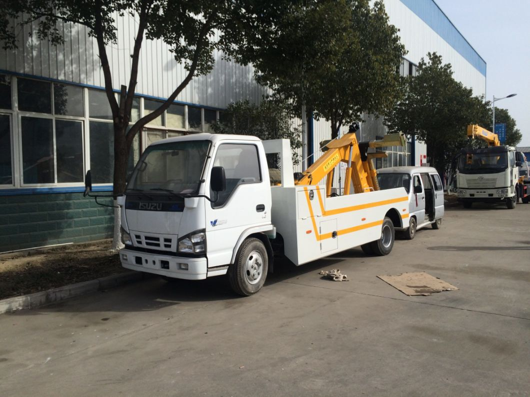 Isuzu 600p 120HP One Tow One Wrecker Tow Truck