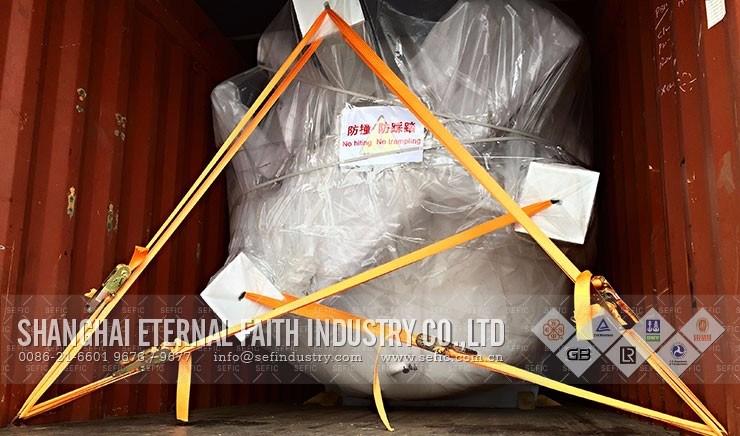 Industrial Use Low Pressure Cryogenic Liquid Storage Tank (CFL-20/0.8)