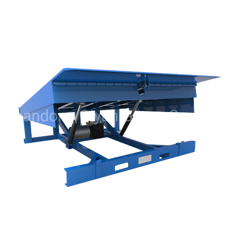 Container Dock Ramp Stationary Hydraulic Dock Leveler with Ce(图2)