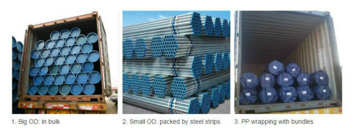 BS1387 Threaded Galvanized Steel Pipes for Watersuply